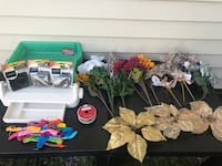 Arts and crafts lot (40 piece lot)