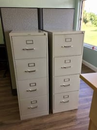 (2) HON 4-Drawer Filing Cabinet - 310 Series Full-Suspension Legal  Vero Beach