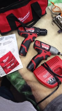 red and black Milwaukee cordless impact driver Oroville, 95966