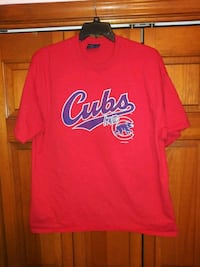 MENS 2XL CHICAGO CUBS IOWA FAN SHIRT FRON MV SPORT Naperville, 60563