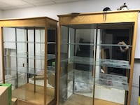 Trophy and display cases. Custom made by Waddell  Irvington, 07111