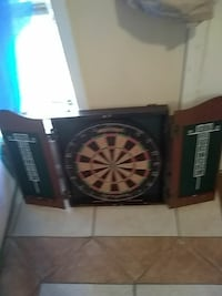Sportcraft dartboard with wood case cricket game Tallahassee, 32310