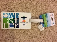 BN Whistler Van 2010 Olympics luggage tag Port Coquitlam