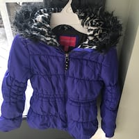 Girls size 14/16 London Fog purple coat  Centreville, 20120