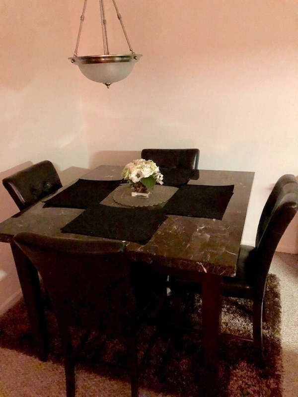 ££Contemporary Marble Top Dining Room Set££