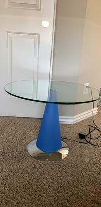 light up end table /  nightstand