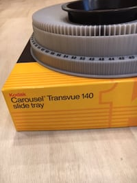 5 Kodak Carousel Transview slide trays Rockville