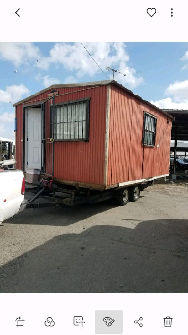 Portable building transporting 2
