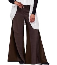 Free People Women's Carina Wide-Leg Menswear Pants.  CA $64.95  Size: 6 Ottawa