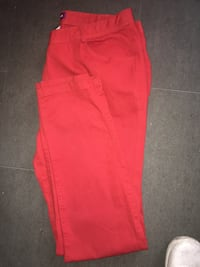 Pantalons rouge taille 46