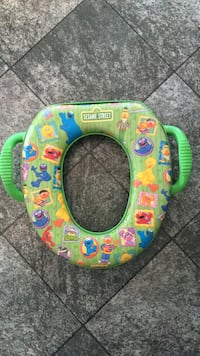 Sesame Street Training Potty Seat Sherwood Park