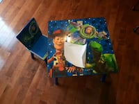 Toy Story table and chair  Brampton
