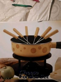 Cheese fondue set Kitchener