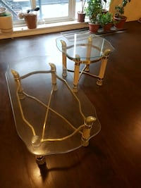 coffee table plus two end tables 536 km