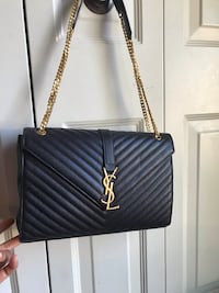 Black YSL lather bag Sterling, 20164