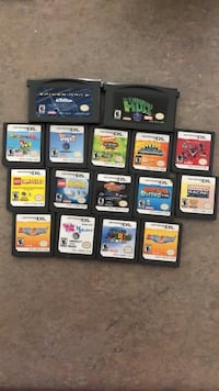 Nintendo games in good condition 3144 km