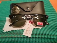 black framed Ray-Ban sunglasses with case Tulare, 93274