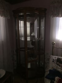 Bow Front Display Cabinet LOVELAND