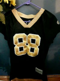 black and yellow NFL jersey Folsom, 70437
