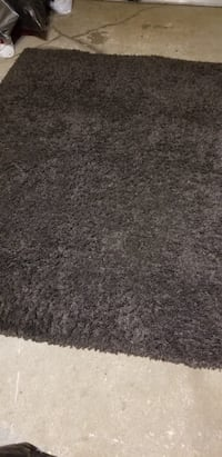 black and white area rug Laval, H7M