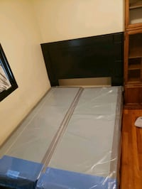 Two twins box spring