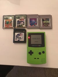 Gameboy color with games Milwaukee, 23435