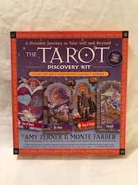 Brand new never used TaroT Discovery reading kit.  Vacaville, 95687