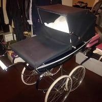 Navy blue bassinet stroller King, L7B