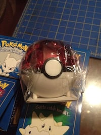 Red and white pokeball toy Longview