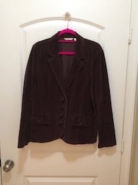 WOMENS BROWN CORDUROY BLAZER  Herndon, 20171