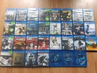 Ps4 games $10-30 + FREE GAMES Cambridge, N1R 1V4