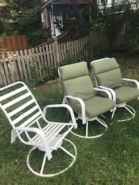 Patio Chairs 3 - 2 With cushions