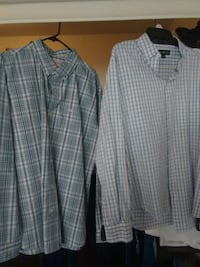 white and black plaid dress shirt Riverside, 92509