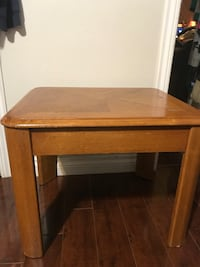 brown wooden single-drawer end table Surrey, V4N 3W2