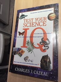 Test Your Science IQ Book Toronto, M1S 5B2