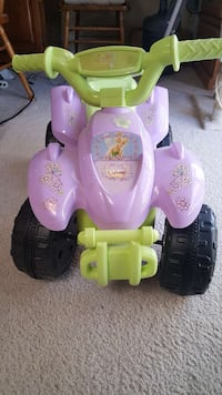 Tinker bell battery operated quad...