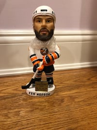 New with box limited edition ken morrow ny slanders bobblehead sga bobble stanley cup olympic gold medal
