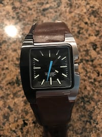 Diesel watch with brown and blacker leather strap Brenham, 77833