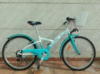 "Bicicleta junior Btwin 24"" Ann is Blue"