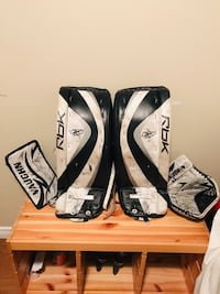 pair of black-and-white Bauer gloves Barrie, L4M