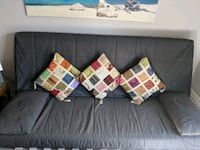 gray fabric sofa with throw pillows Montréal, H3E 1B5