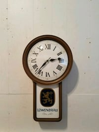 round brown wooden analog wall clock Nottingham, 21236