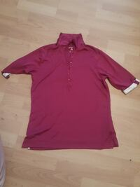 red polo shirt Manistee, 49660