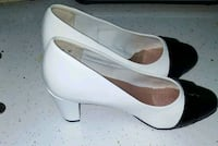 pair of 6 1/2 white and black shoes. NEVER WORN Bronx, 10469