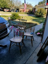 Antique pure wood chairs College Station, 77845