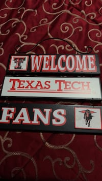 texas tech  sign Midland, 79703