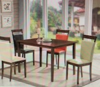 Dining table four chairs  Elgin
