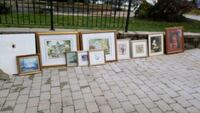 assorted prints for sale.  beautiful reusable frames Toronto, M5M 2V6