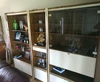Glass and Wood 3 piece cabinet Hamilton, L8K 4H8