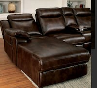 brown leather recliner sofa chair Los Angeles, 91601